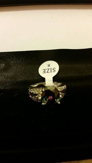 Mystic topaz ring size 8 new sterling silver for Sale in Anaheim, CA