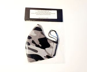 Camo Fitted Triple Layer Face Mask for Sale in Albuquerque, NM