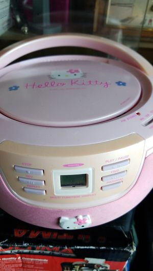Hello Kitty CD player and radio for Sale in Hesperia, CA