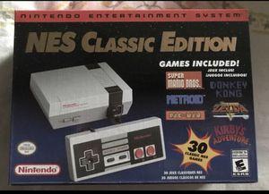 Nintendo Classic Edition NES Includes 30 Classic Games for Sale in Buena Park, CA