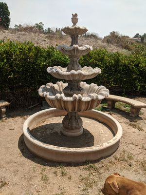 7 ' Water fountain with Concrete branches for Sale in Riverside, CA