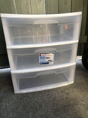 plastic storage for Sale in Concord, CA