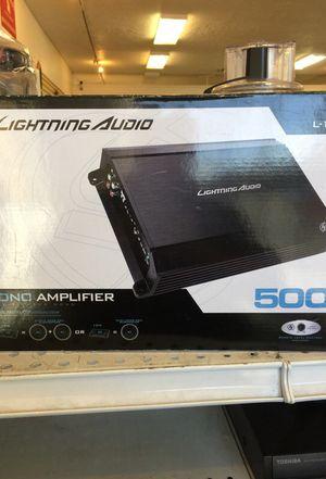 Brand new lightning audio 500 W mono amplifier for Sale in Taylorsville, UT