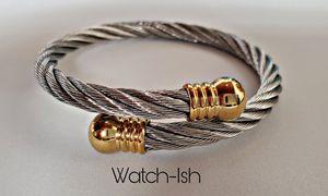 (NEW) Unisex steel rope bracelet for Sale in Revere, MA