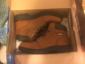 Sketcher for Work Boots size 10.5 w/memory foam for Sale in Fresno, CA