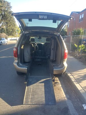 Dodge grand caravan 2002- Wheelchair access for Sale in San Diego, CA