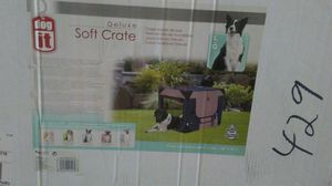 Deluxe soft dog crate for Sale in Bowie, MD