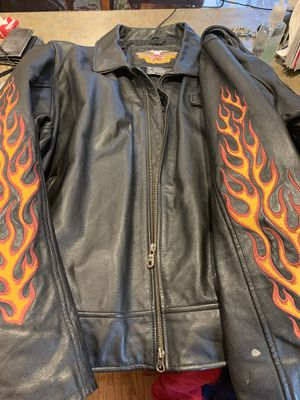 Size 3 XL Motorcycle Leather Jacket for Sale in Dracut, MA