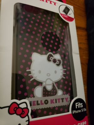 New Hello Kitty Dual Protection Phone Case for Iphone 5 / 5s for Sale in Louisville, KY
