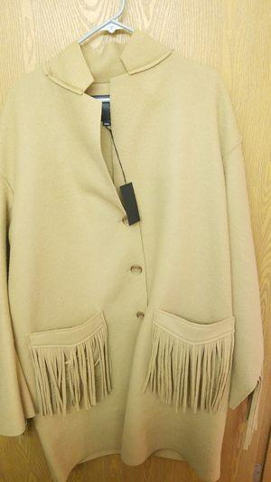 R13 Raw Fringe Cut Coat for Sale in Spokane, WA