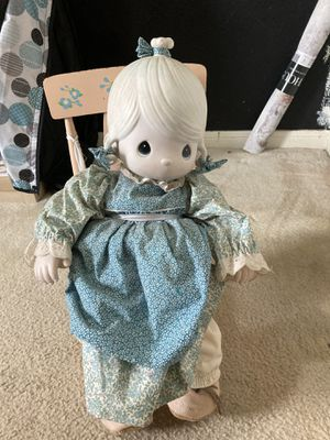 Precious moments porcelain doll for Sale in Houston, TX