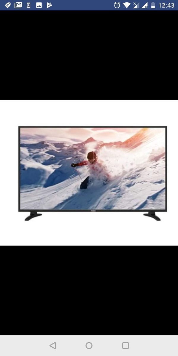 Haier 49-Inch 4K Ultra HD 60Hz LED TV (49UF2500) for Sale in Yardley, PA -  OfferUp