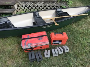 Sarnac 14' canoe with accessories for Sale in South Charleston, WV