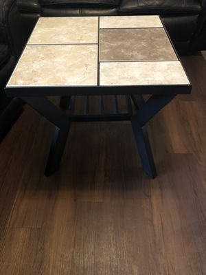 Two end tables need gone ASAP! $60 obo light damage 2 ft by 2ft and 22in high. for Sale in Tampa, FL