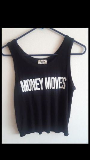 Money Moves• Tank top for Sale in Milpitas, CA