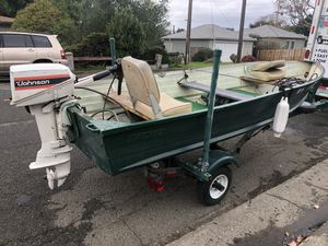 12' Aluminum Fishing Boat for Sale in Vallejo, CA