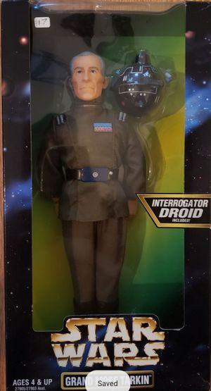 New Star Wars 12 Inch Grand Moff Tarkin Figure. (Interrogator Droid Included) for Sale in Apopka, FL