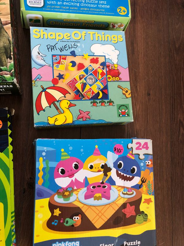 Preschool package of games and toys