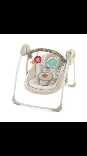 *New* Cozy Kingdom Soothe 'n Delight Portable Swing for Sale in Covington, GA