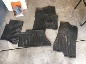 2006 Silverado factory floor mats for Sale in Riverbank, CA