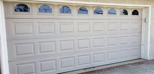 Near new 16' x 7' Double car Garage door for Sale in Los Angeles, CA