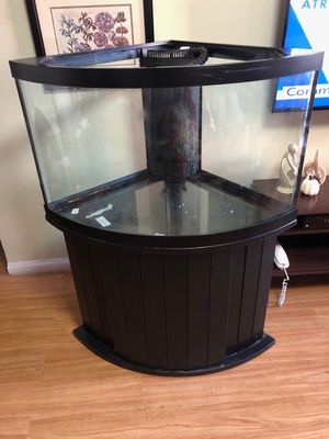 Fish corner tank 54 gl sal water for Sale in The Bronx, NY