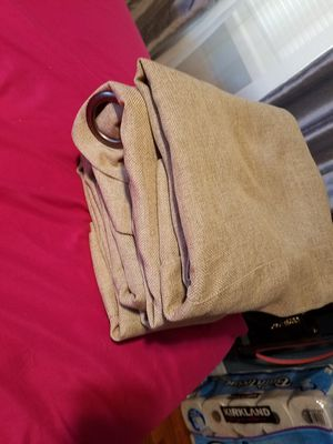 Beige courtains (2 pairs) for Sale in Fullerton, CA