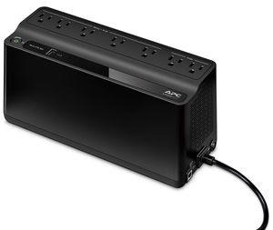 APC UPS Battery Backup & Surge Protector with USB Charger, 600VA Uninterruptible Power Supply (BE600M1) for Sale in Longwood, FL