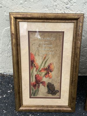 Beautiful framed home decor for Sale in Miami, FL