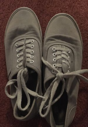 Grey vans size 6 for Sale in Aurora, CO