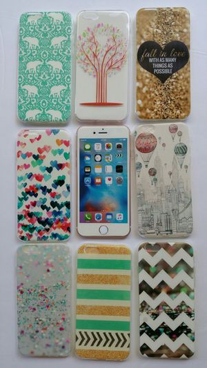 Fun TPU Gel Design Cases for iPhone 6/6S - 8 pieces for Sale in Scottsdale, AZ