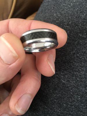 Carbon fiber ring for Sale in Alexandria, VA