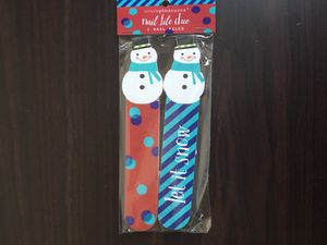 Nail file 2-pack ( winter themed) for Sale in New York, NY