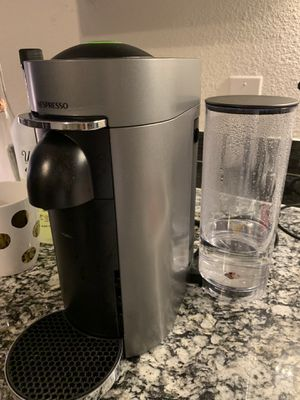 Nespresso by De'Longhi Vertuo Plus Deluxe Coffee & Espresso Maker for Sale in Denton, TX