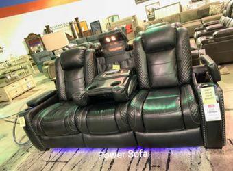 İn Stock S U Power LED Reclining Sofa for Sale in Alexandria,  VA