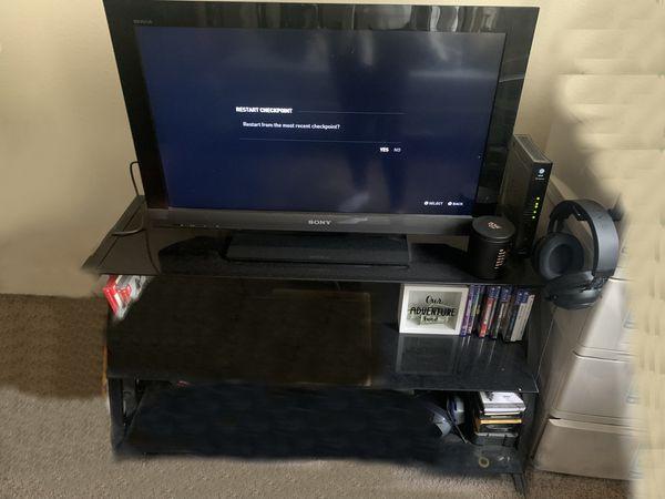 TV Stand glass