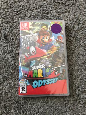 Super Mario Odyssey, Nintendo Switch - Brand New Sealed for Sale in Miami, FL