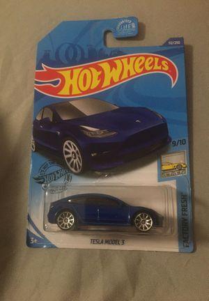 Hot Wheels TESLA MODEL 3 for Sale in Miami, FL