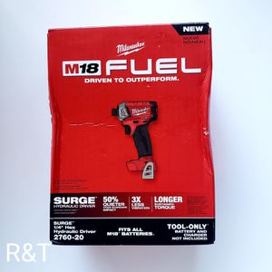 Milwaukee fuel impact driver surge for Sale in Fullerton, CA