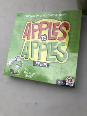 New Kids Game - Apples to Apples Jr. for Sale in Cibolo, TX
