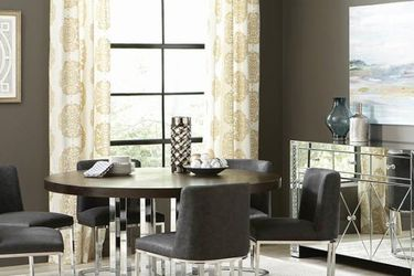 """60""""D Round Graphite Dining Table for Sale in Los Angeles,  CA"""