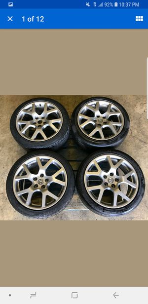 """Used 2005-2006 Nissan Altima SE-R Forged Front & Rear 18"""" 5x114.3 18x8 +45 ET Rims Wheels With Tires for Sale in Atlanta, GA"""