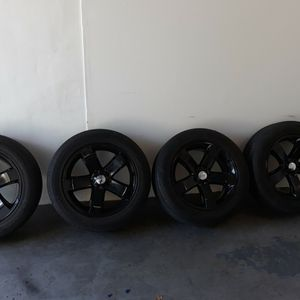 Dodge Challenger Stock Wheels And Tires For Sale! for Sale in Fort Lauderdale, FL
