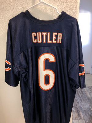 Chicago Bears Jay Cutler #6 Jersey for Sale in Modesto, CA