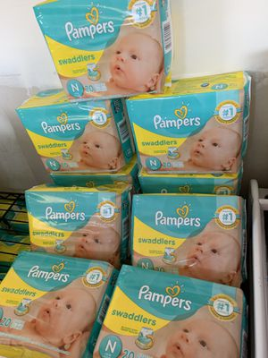 Pampers newborn diapers 3 bags for $10 for Sale in Temple City, CA