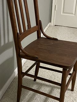 Antique Wooden Chair 19th Century for Sale in Katy,  TX