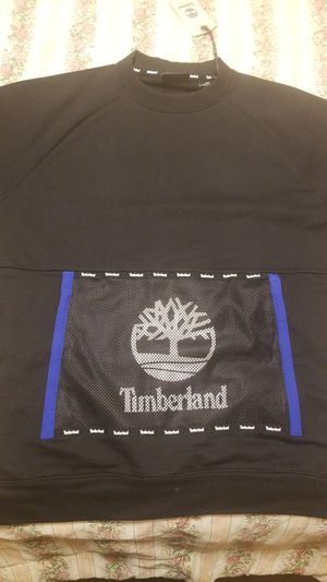 Mens Black Timberland jacket size M for Sale in Grand Prairie, TX