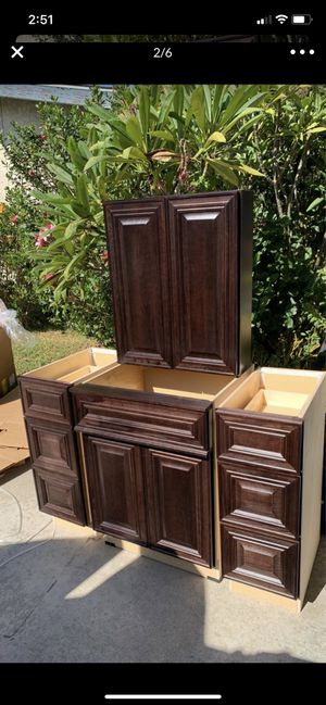 Kitchen and bathroom cabinets SALE for Sale in Montebello, CA