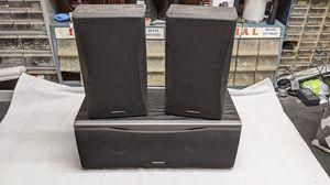 Onkyo Surround Sound Speakers 130W each! - center left right soundbar sound bar for Sale in Carlsbad, CA