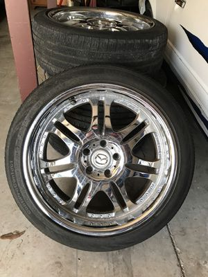 Rims and Brand New Tires! for Sale in Alafaya, FL